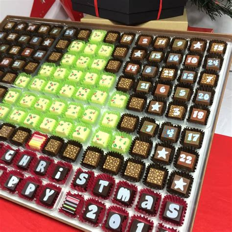 Chocolate Calendar Chocolate Advent Calendar To Tree By