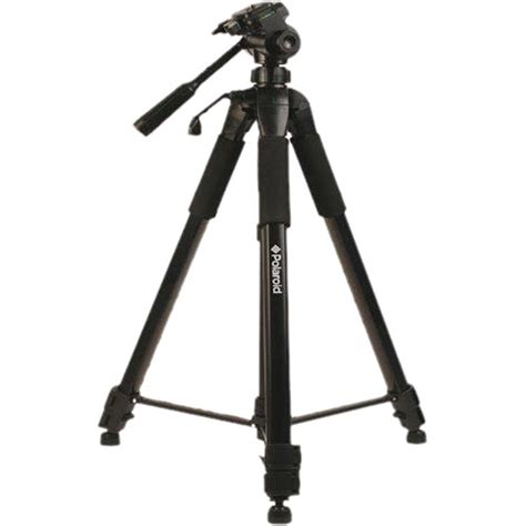 Tripod Kamera polaroid 72 quot tripod w 3 way pan tilt black pltri72