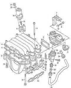 Audi A6 Exhaust System Diagram New Intake Manifold Exhaust Gasket Audi A4 A6 100 92