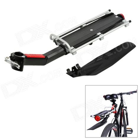 Motorcycle Rear Carrier Rack by Mountainpea Bike Rear Rack Luggage Carrier W Fendar