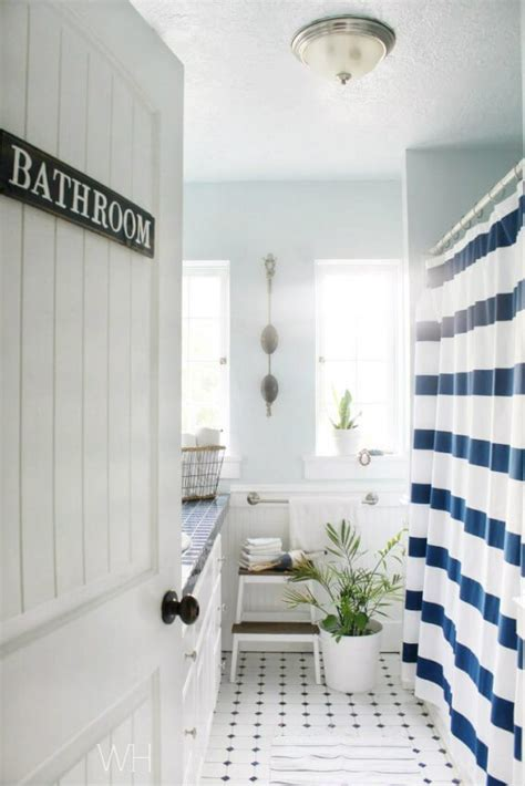 delightful Small Half Bath Ideas #4: DIY-Home-Decor-23-Cute-Half-Bathroom-Ideas-Image-9-DIY-door-sign.jpg
