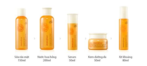 Innisfree Tangerine Vita C Serum tinh ch蘯 t d豌盻 ng innisfree tangerine vita c serum jeju