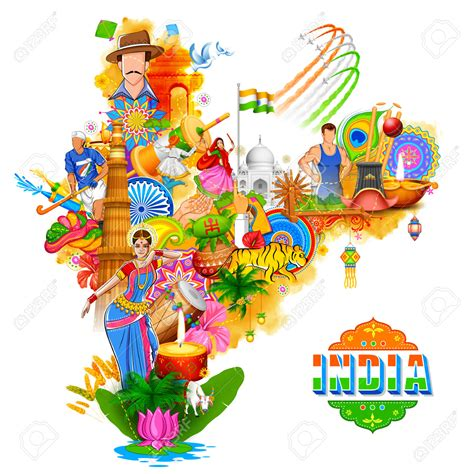 doodle for india unity in diversity religious unity in india clipart clipartxtras