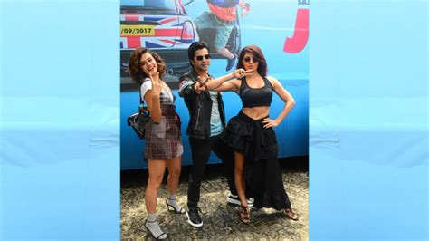 film 2017 judwaa 2 judwaa 2 trailer was launched by varun jacqueline and