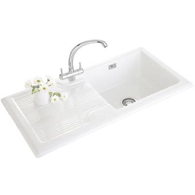 franke ceramic kitchen sinks franke galassia gak 611 ceramic kitchen sink 124 0196 745