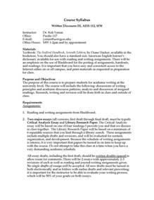Essay Syllabus by Talk 187 Syllabi