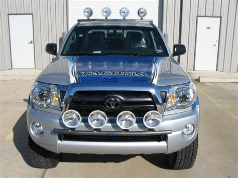 1999 tacoma light bar n fab t054lb light bar 2005 2011 toyota tacoma gloss black