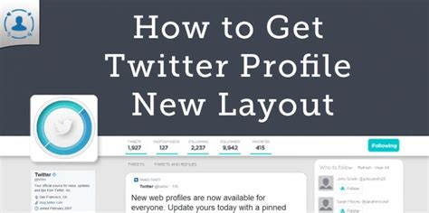 twitter new layout 2014 how to get twitter new profile design layout 2014