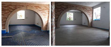 spessore massetto riscaldamento a pavimento il massetto su impianto di riscaldamento a pavimento o