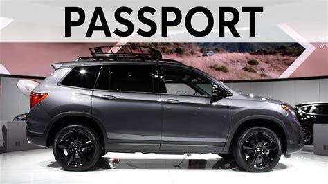 la auto show  honda passport consumer reports