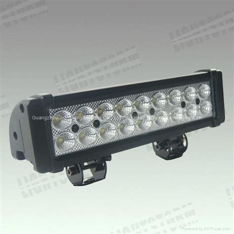 54w Led Vision Auto Led Light Bar Offroad Led Work L Led Automotive Light Bars