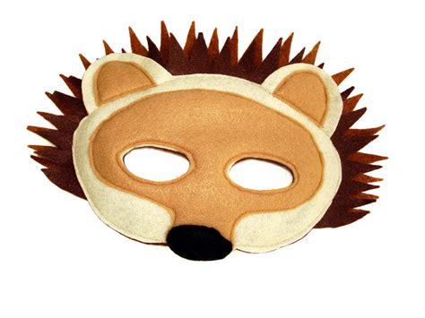 childrens woodland animals felt mask super combo   masks magical attic