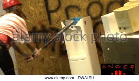 anger room dallas anger room dallas citizens with anger management issues can smash stock photo royalty free