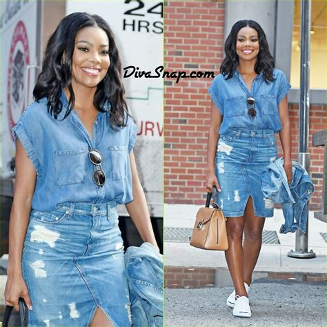 gabrielle union stars in being mary jane on bet divasnap com denim down gabrielle union spotted being a