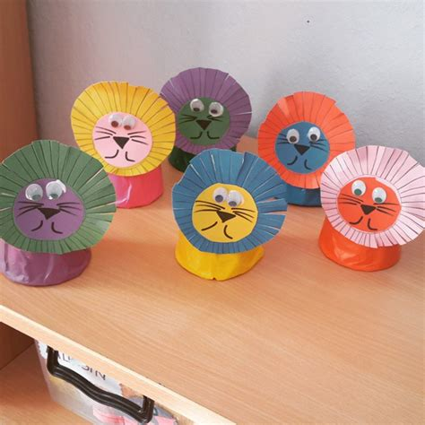 And Craft With Paper Cups - preschool crafts and worksheets