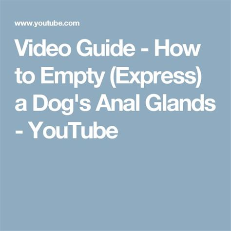 how to express glands the world s catalog of ideas