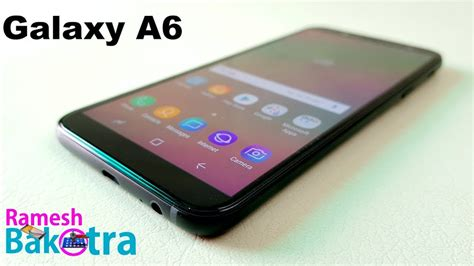 samsung galaxy a6 review and unboxing