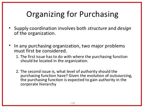 Purchasing Supply Management purchasing and supply management