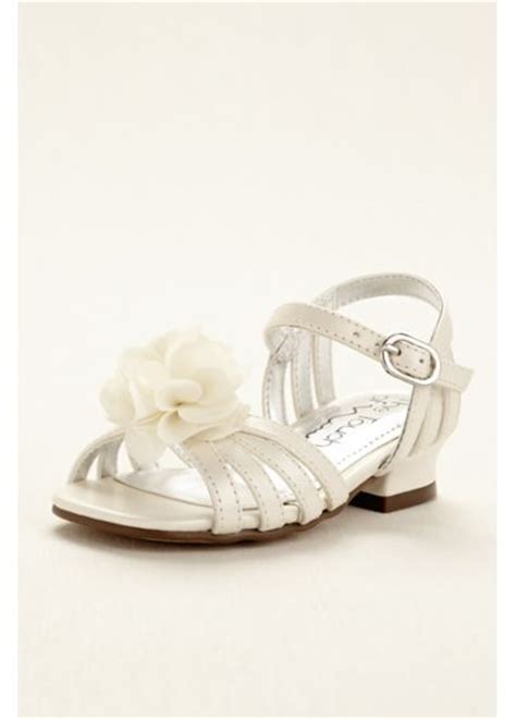 flower shoes davids bridal touch of flower sandal with flowers davids bridal