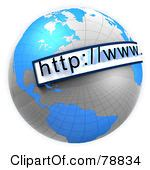 free web page clipart website address clipart