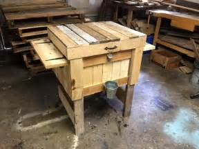 Shoe Chest Bench Build A Pallet Cooler Full Tutorial