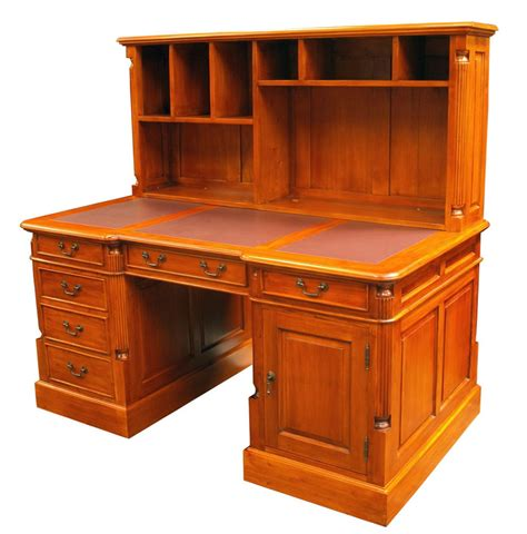 desk with bookcase attached home design ideas