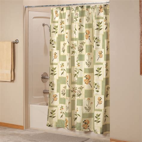 botanical shower curtains botanical shower curtain fabric shower curtain walter