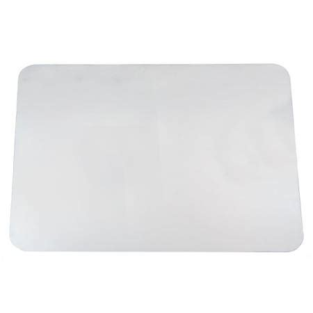 office depot desk pad office depot brand desk pad with microban 19 x 24 clear by