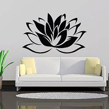 Flower Wall Decals For Bathroom Lotus Flower Wall Decal Vinyl Sticker From Wall