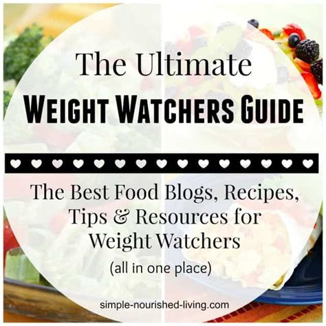 ultimate guide to best weight watchers recipes blogs