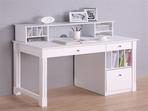 solid wood desk with hutch white computer desks white deluxe solid wood desk with