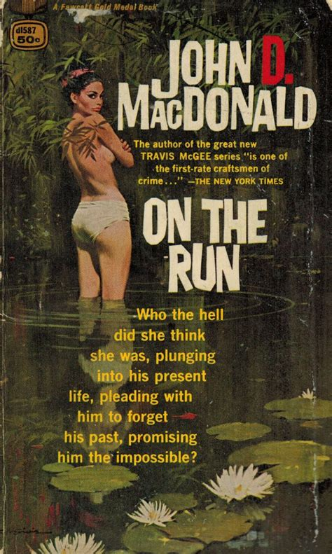 on the run books pulp friday the pulp of d macdonald pulp curry