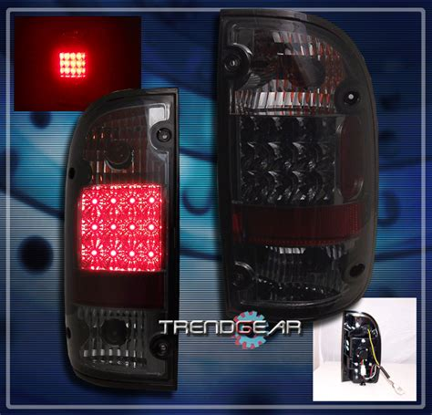 2001 toyota tacoma led tail lights 2001 2004 toyota tacoma led altezza brake tail lights lamp