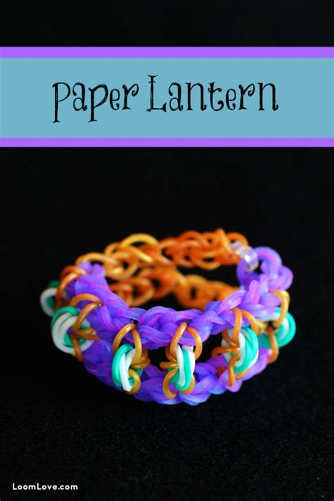 How To Make A Paper Rainbow - how to make a rainbow loom paper lantern bracelet