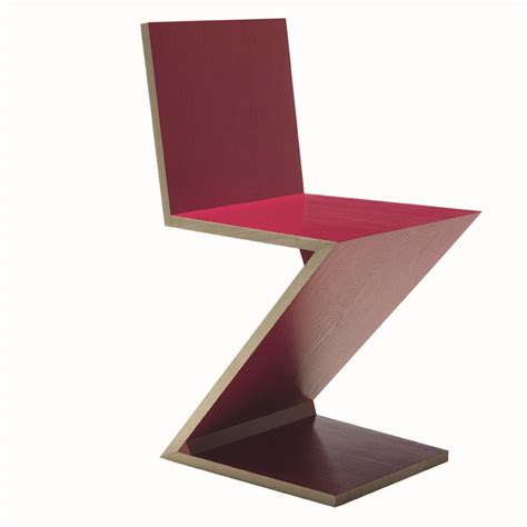 Zig Zag Chair by Zig Zag Chair By Gerrit Rietveld For Cassina