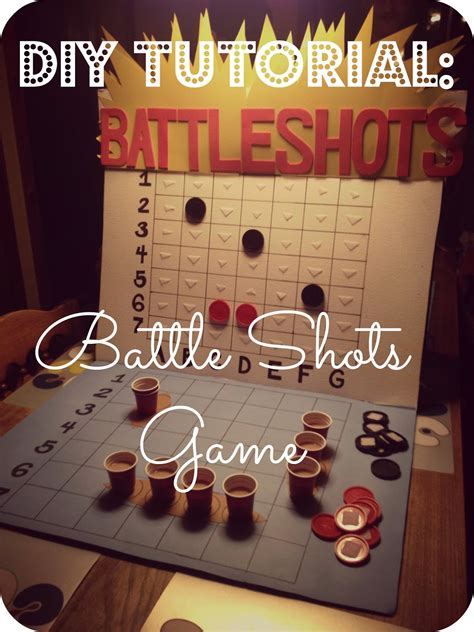 Pattern Drinking Games | 2messy diy battle shots drinking game