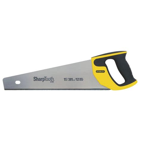 Stanley 15 in. Sharp Tooth Hand Saw 20 526   The Home Depot