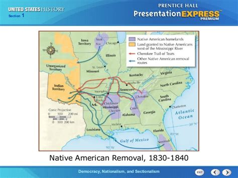 american movement 1830 map answers us history ch 2 section 1 notes