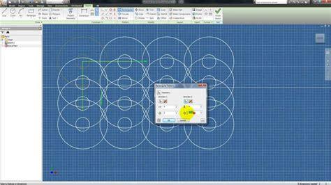 rectangular pattern inventor sketch autodesk inventor tutorial 3 sketching patterns