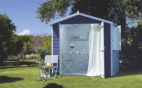 wooden summerhouse garden shed and building