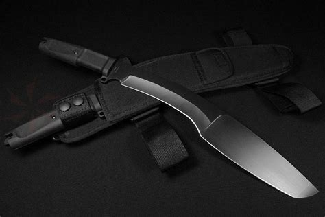 Good Kitchen Knives Extrema Ratio Kh Kukri 12 4 Quot Black N690 Curved Tanto Blade