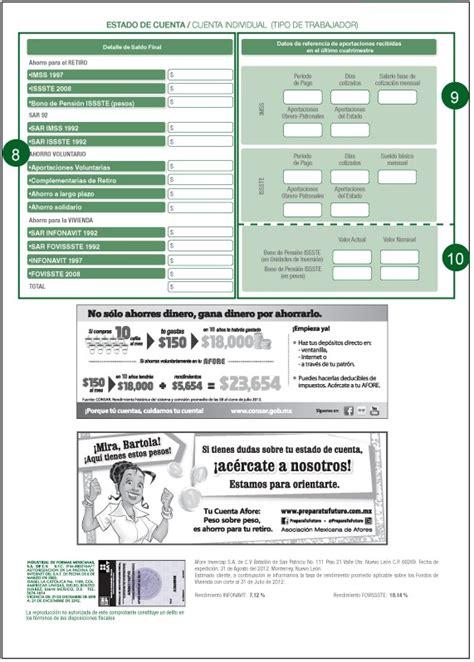 consultar mi estado de cuenta individual ivss afore invercap requisitos consulta de saldo y tr 225 mites