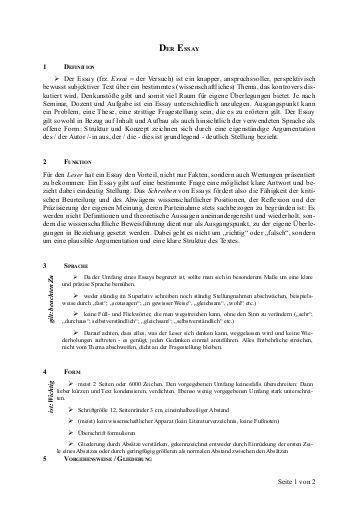 Essay Verfassen by Wie Schreibt Ein Essay Schreiben Reportz80 Web Fc2