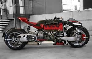 Maserati V8 Motofire A Dude Put A Maserati V8 In A Motorcycle