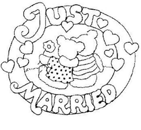 fun coloring pages wedding coloring pages just married