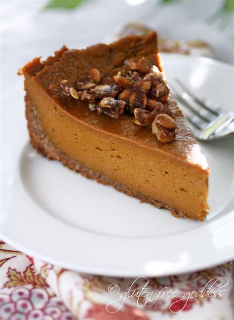 gluten free goddess recipes vegan pumpkin pie praline in