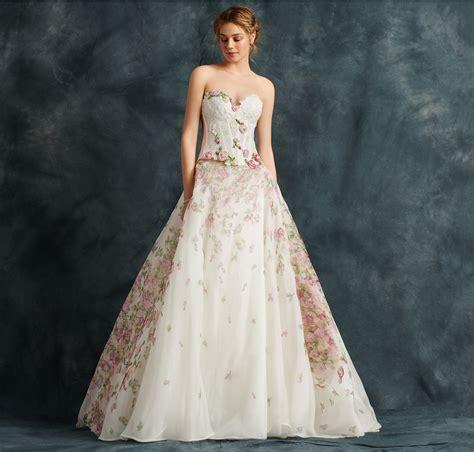 abito da sposa a fiori abito da sposa a fiori moda e design italiani