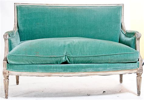 1920s sofa styles vintage settee sofa in louis xvi style made in france