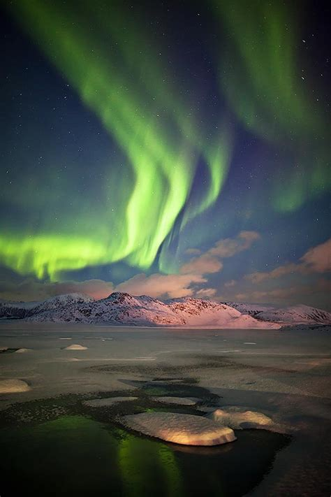 aurora borealis   sky  norway photography