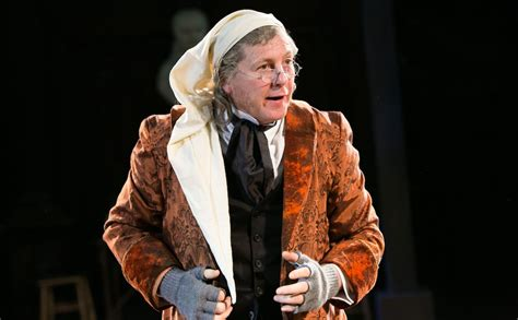 Ebenezer Scrooge Carol - review a carol antic disposition the void